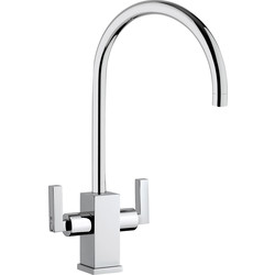 Franke Franke Zell Mono Mixer Kitchen Tap Chrome - 17414 - from Toolstation