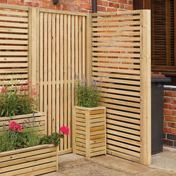Rowlinson Rowlinson Garden Creations Vertical Screens 180cm (h) x 90cm (w) x 4.5cm (d) - 17421 - from Toolstation