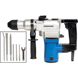 Silverline Silverline 850W 5kg SDS Hammer Drill 230V - 17425 - from Toolstation