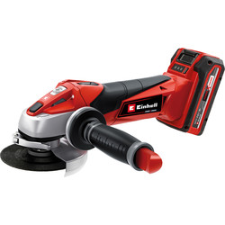 Einhell Einhell Power X-Change TE-AG 18V Li-Ion Cordless 115mm Angle Grinder 1 x 3.0Ah - 17448 - from Toolstation
