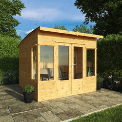 Mercia Mercia Premium Helios Summerhouse 8' x 8' - 17478 - from Toolstation