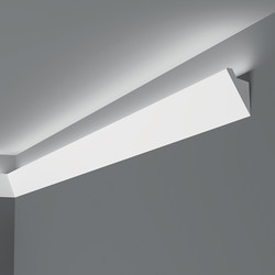 Lighting Coving IL4 60mm x 36mm x 2m - 17501 - from Toolstation