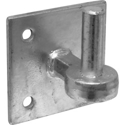 "Field Gate Hook on Plate 4"" - 17515 - from Toolstation"