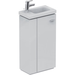 Ideal Standard Ideal Standard Senses Space Basin & Unit Left Hand White Gloss - 17562 - from Toolstation