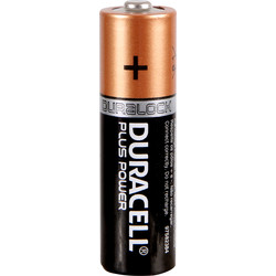 Duracell Duracell Plus Power Battery AA - 17580 - from Toolstation