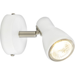 Philips Curtis Spotlight White Single Spot - 17612 - from Toolstation