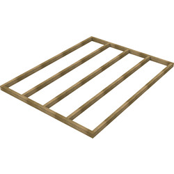 Forest Forest Garden Shed Base for Overlap Sheds 8' x 6' - 17623 - from Toolstation