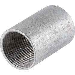 Unbranded Galvanised Coupler 25mm - 17668 - from Toolstation