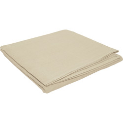 Cotton Dust Sheet 3.5m x 2.6m