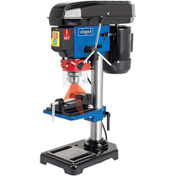 Scheppach Scheppach DP16VLS 500W 16mm 5 Speed Bench Drill with Machine Vice 240V - 17797 - from Toolstation