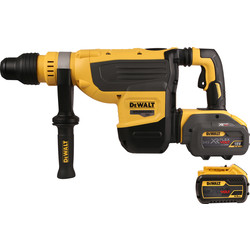 DeWalt DeWalt DCH733X2-GB 54V XR FlexVolt SDS Max Rotary Hammer Drill 2 x 9.0Ah - 17834 - from Toolstation