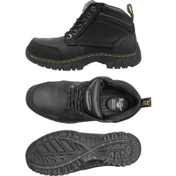 Dr Martens Dr Martens Riverton Safety Boots Black Size 10 - 17838 - from Toolstation