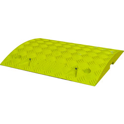 Melba Swintex Melba Swintex 75mm Traffic Calming Ramp Yellow - 17930 - from Toolstation
