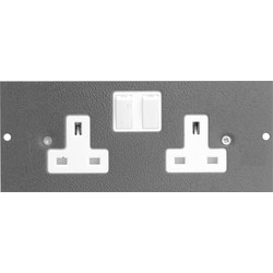 CED Floor Box 3 Compartments Spare Socket - 17963 - from Toolstation