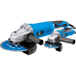 Draper Draper 115mm (600W) & 230mm (2100W) Angle Grinder 230V - 18039 - from Toolstation
