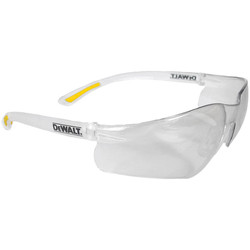 DeWalt DeWalt Contractor Safety Glasses Clear - 18107 - from Toolstation