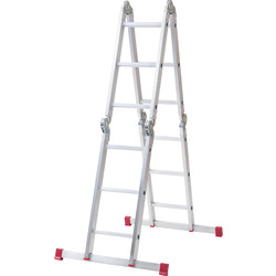 Werner Werner 12 Way Aluminium Combination Ladder  - 18135 - from Toolstation