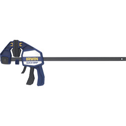 "Irwin Irwin Quick-Grip Heavy-Duty Bar Clamp 450mm / 18"" - 18164 - from Toolstation"