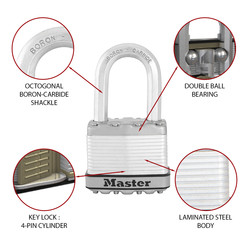 Master Lock EXCELL Laminated Steel Padlock