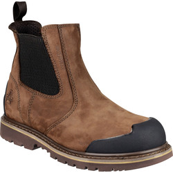 Amblers Amblers FS225 Safety Dealer Boots Brown Size 8 - 18321 - from Toolstation