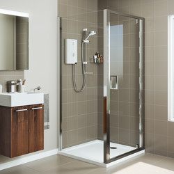 Mira Sport Max Electric Shower White / Chrome