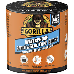 Gorilla Glue Gorilla Tape Waterproof Patch & Seal Tape 3m - 18482 - from Toolstation