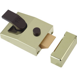 Yale Yale Deadlocking Nightlatch 89 Standard Brasslux - 18514 - from Toolstation