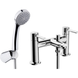 Ebb and Flo Ebb + Flo Pentle Taps Bath Shower Mixer - 18542 - from Toolstation