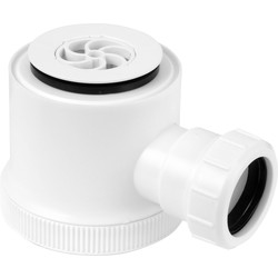 Shower Trap Grid 50mm Seal White - 18543 - from Toolstation