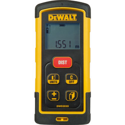 DeWalt DeWalt DW03050-XJ Bluetooth Laser Distance Measurer 50m - 18676 - from Toolstation