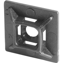 Adhesive Base for Cable Ties Black - 18700 - from Toolstation