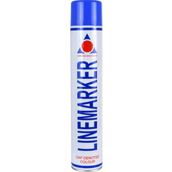 Line Marking Spray Paint 750ml Blue - 18814 - from Toolstation