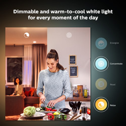 Philips Hue White Ambiance Bluetooth Lamp