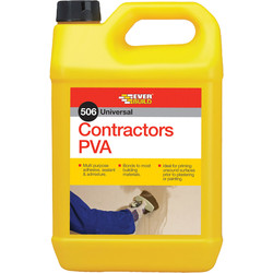 Everbuild Everbuild 506 Contractors PVA 5L - 18844 - from Toolstation