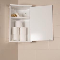 Croydex Corner MDF Bathroom Cabinet