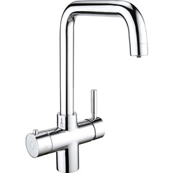 Deva Deva Vision Boiling Water Tap 3-in-1 Square Neck - 18904 - from Toolstation