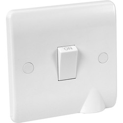 Scolmore Click Click Mode  20A DP Switch Flex Outlet - 18945 - from Toolstation