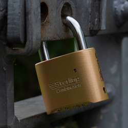 Sterling Combination Padlock