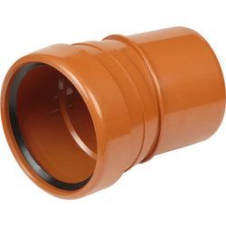 Aquaflow Single Socket Bend 110mm 15° - 19101 - from Toolstation