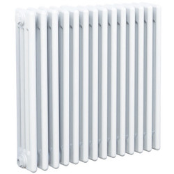 Arlberg Arlberg 4-Column Horizontal Radiator 600 x 670mm 3808Btu White - 19182 - from Toolstation