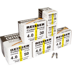 Reisser Cutter Pozi Screw Pack