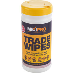 Maxipro Trade Strength Cleaning Wipes 80 Wipes - 19296 - from Toolstation