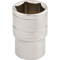 "Draper 1/2"" Drive 6 Point Socket 21mm - 19425 - from Toolstation"