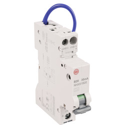 Wylex Wylex Mini RCBO 20A 30Ma Type A - 19437 - from Toolstation
