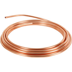 Wednesbury Wednesbury Microbore Copper Pipe Coil 10mm x 25m - 19438 - from Toolstation