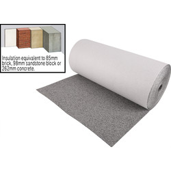 Erfurt Mav Graphite+ Insulating Lining Paper 10m x 50cm - 19476 - from Toolstation