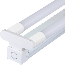 V-TAC V-TAC LED Batten c/w Tubes Twin 18W 1200mm 3400lm - 19488 - from Toolstation