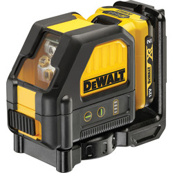 DeWalt DeWalt DCE088D1G 12V Laser Level Cross Line 12V - 19553 - from Toolstation