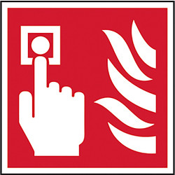 Fire Safety Sign Fire Alarm Point - 19596 - from Toolstation