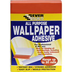 Everbuild All Purpose Wallpaper Paste 30 Roll - 19709 - from Toolstation
